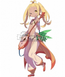 Re:Zero Re: Life In A Different World From Zero Diva Liliana Masquerade Cosplay Costume