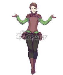 Re:Zero Re: Life In A Different World From Zero Nine Balroy Temeglyph Cosplay Costume