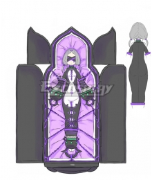 Re:Zero Re: Life In A Different World From Zero Witch of Gluttony Daphne Cosplay Costume
