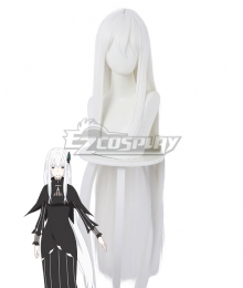 Re:Zero Re: Life In A Different World From Zero Witch of Greed Echidna White Cosplay Wig