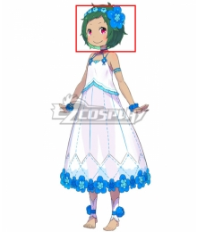 Re:Zero Re: Life In A Different World From Zero Witch of Pride Typhon Green Cosplay Wig