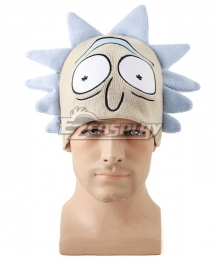 Rick And Morty Rick Hat Halloween Cosplay Accessory Prop