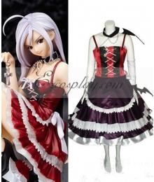Rosario + Vampire Moka Vampire Dress Cosplay Costume
