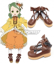 Rozen Maiden Kanaria Lolita Brown Cosplay Shoes