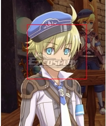 Rune factory 5 Ares Golden Cosplay Wig