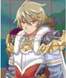 Rune factory 5 Reinhard Grey Cosplay Wig