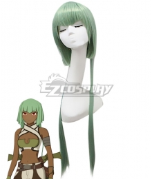 RWBY Emerald Sustrai Green Cosplay Wig