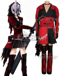 RWBY Raven Branwen Red Cosplay Costume