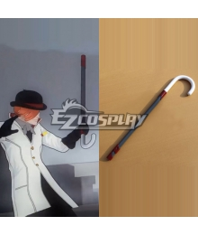 RWBY Roman Torchwick Crutch Cosplay Weapon Prop