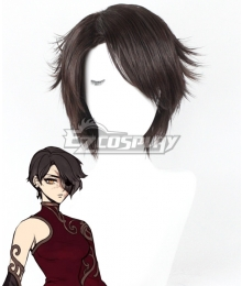 RWBY Volume 4 Cinder Fall Black Cosplay Wig