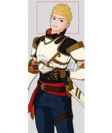 RWBY Volume 7 Jaune Arc Gold Cosplay Wig