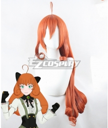 RWBY Volume 7 Penny Polendina Orange Cosplay Wig