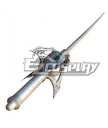 RWBY White Weiss Schnee Multi Action Dust Rapier MADR Myrtenaster Cosplay Weapon Prop