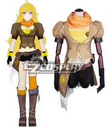 RWBY Yellow Yang Xiao Long Cosplay Costumes