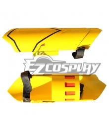 RWBY Yellow Yang Xiao Long Dual Ranged Shot Gauntlets Ember Celica Cosplay Weapon Prop - B Edition
