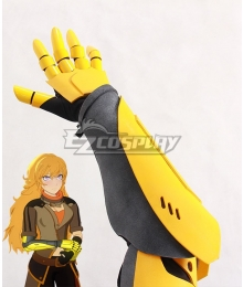 RWBY Volume 4 Yang Xiao Long Gauntlets Cosplay Accessory Prop