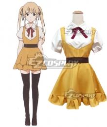 Saenai Heroine no Sodatekata Saekano: How To Raise A Boring Girlfriend Eriri Spencer Sawamura Yellow Dress Cosplay Costume