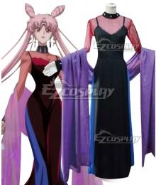 Sailor Moon Black Lady Tsukino Usagi Small Lady Serenity Chibi Usa Cosplay Costume