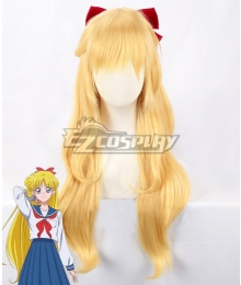 Sailor Moon Minako Aino Sailor Venus Golden Cosplay Wig - Only Wig