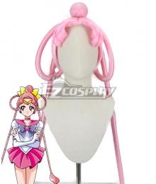 Sailor Moon Sailor Ceres Pink Cosplay Wig