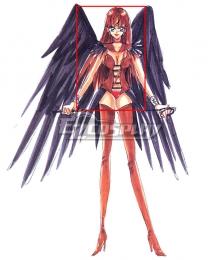 Sailor Moon Sailor Lead Crow Red Cosplay Wig