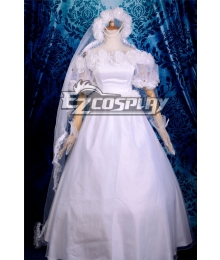 Sailor Moon Usagi Tsukino Wedding Lolita Cosplay Anime Costume-Y560
