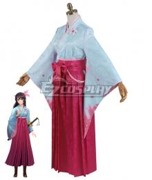 Sakura Wars Shin Sakura Taisen Sakura Amamiya Cosplay Costume