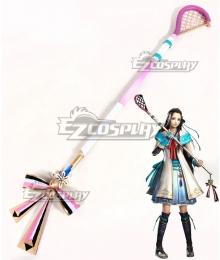 Samurai Warriors 4 Sengoku Musou Lady Hayakawa Dakyu Stick Cosplay Weapon Prop