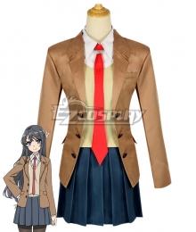 Seishun Buta Yarou wa Bunny Girl Senpai no Yume wo Minai Sakurajima Mai Cosplay Costume