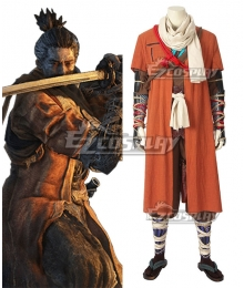SEKIRO: Shadows Die Twice One Armed Wolf Shinobi Sekiro Cosplay Costume