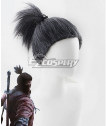 SEKIRO: Shadows Die Twice Shinobi Sekiro Black Cosplay Wig