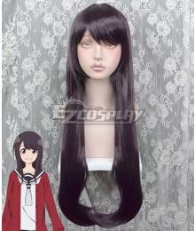 Senryu Girl Nanako Yukishiro Purple Brown Cosplay Wig