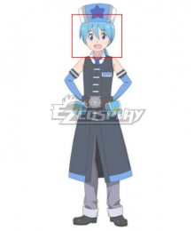 Shachibato Makoto Blue Cosplay Wig
