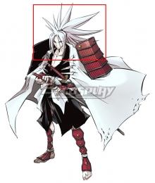 Shaman King Amidamaru White Cosplay Wig