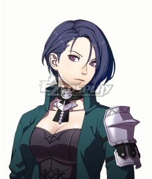 Fire Emblem: Three Houses Shamir Deep Blue Cosplay Wig