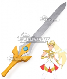 She-Ra and the Princesses of Power Season 5 Adora She-ra Sword Cosplay Weapon Prop