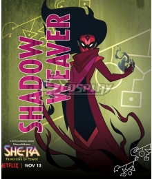 She-Ra and the Princesses of Power Shadow Weaver Cosplay Costume