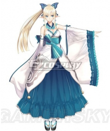Shining Resonance Kirika Towa Alma Cosplay Costume