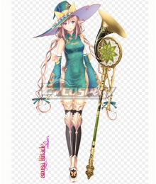 Shining Resonance Rinna Mayfield Cosplay Costume