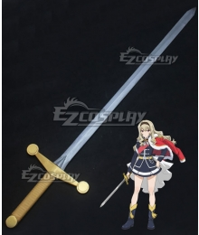 Shoujo Kageki Revue Starlight Claudine Saijou Sword Cosplay Weapon Prop