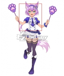 SHOW BY ROCK!! Mashumairesh!! Ruhuyu Purple Cosplay Wig