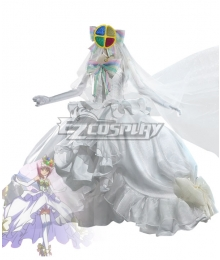 Shugo Chara Hinamori Amu Wedding Dress Cosplay Costume
