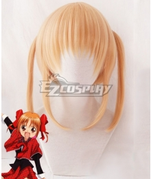 Shugo Chara Yaya Yuiki Orange Cosplay Wig