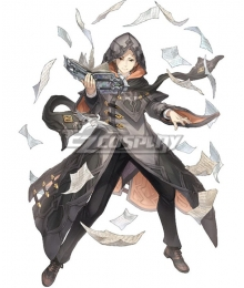 SINoALICE Re: Life In A Different World Caster Natsuki Subaru Cosplay Costume