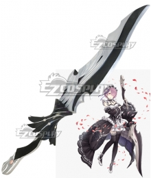 SINoALICE Re: Life In A Different World From Zero Ram Sword Cosplay Weapon Prop