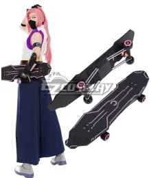 SK8 the Infinity SK∞ Cherry blossom Skateboard Cosplay Weapon Prop