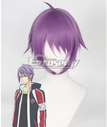 Skate Leading ☆ Stars Izumi Himekawa Purple Cosplay Wig