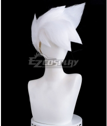 Sky: Children of the Light That Sky Game Ancestors Kakashi White Cosplay Wig