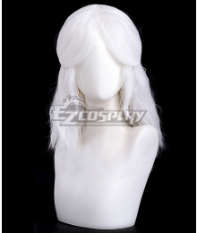 Sky: Children of the Light That Sky Game Ancestors Princess White Cosplay Wig