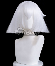 Sky: Children of the Light That Sky Game Mushroom White Cosplay Wig